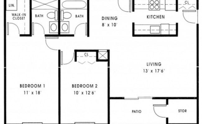 Budgethome 1000 Sq Ft 3 Bedroom House And Plan Dubai Khalifa