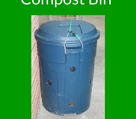 Super Mom Tip of the Day – How to Make a Garbage Can Compost Bin