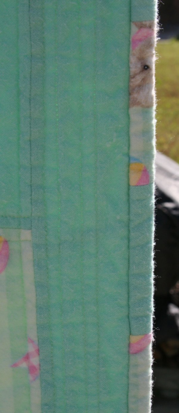 Here's a closer look at the binding.