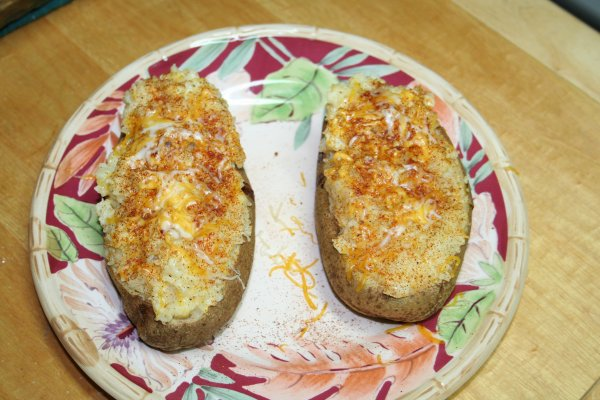 Yummy Twice Baked Potatoes