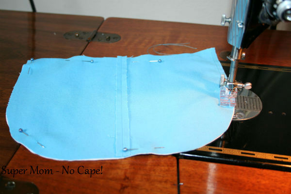 7 - Sew pocket to lining