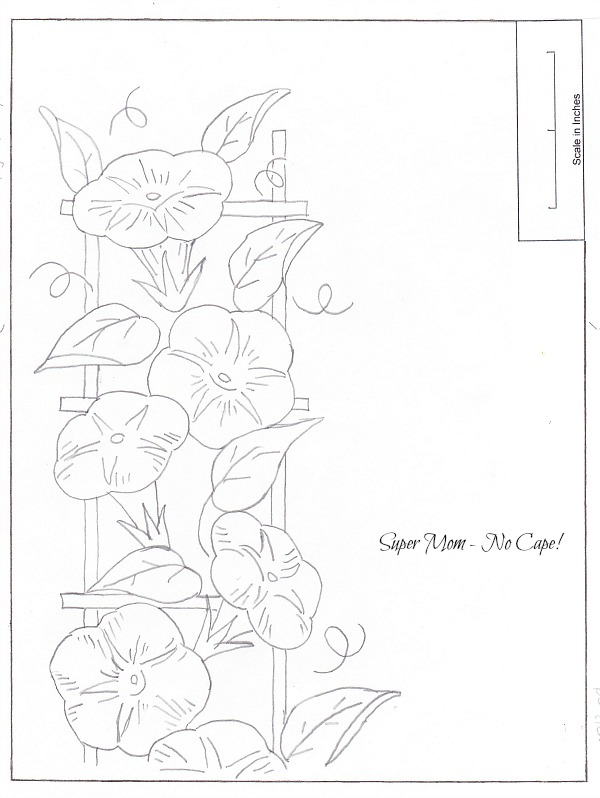 JPEG 82 Morning Glory Border Sheet 3