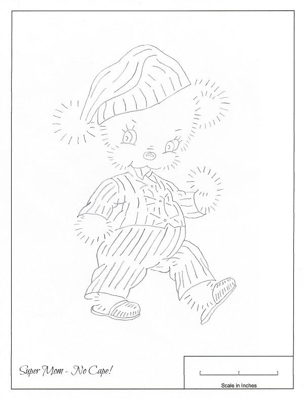 JPEG 85 Bear in Pajamas
