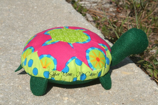 Lexie the Hexie Turtle BFF side view