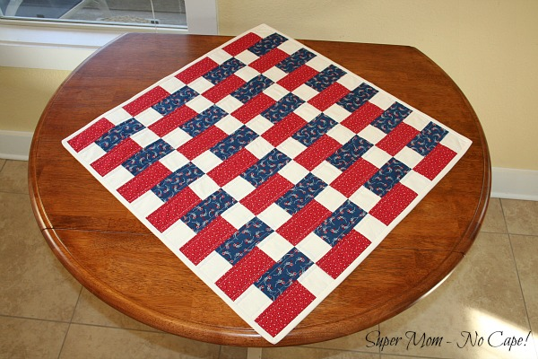 Old Glory Scrambled Tabletopper 1