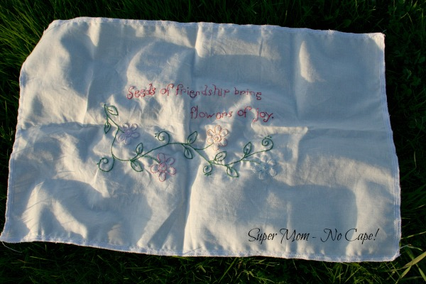 Seeds of Friendship Embroidery