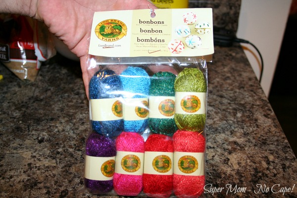 Lion Brand Yarn Bonbons
