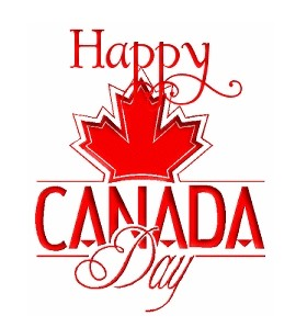 free clip art Happy Canada Day