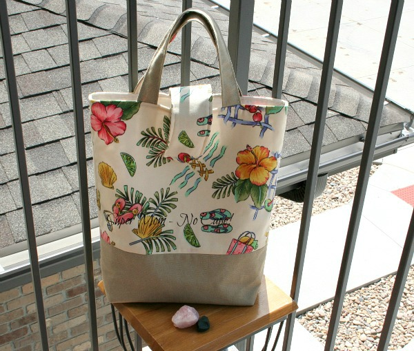 Photo of handmade tote bag