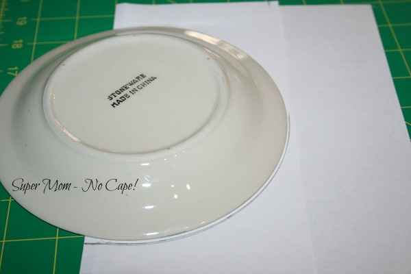 draw a curve using a small plate