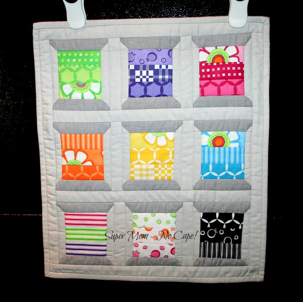 My Mini Spools Quilt from pattern by Thimble Blossoms