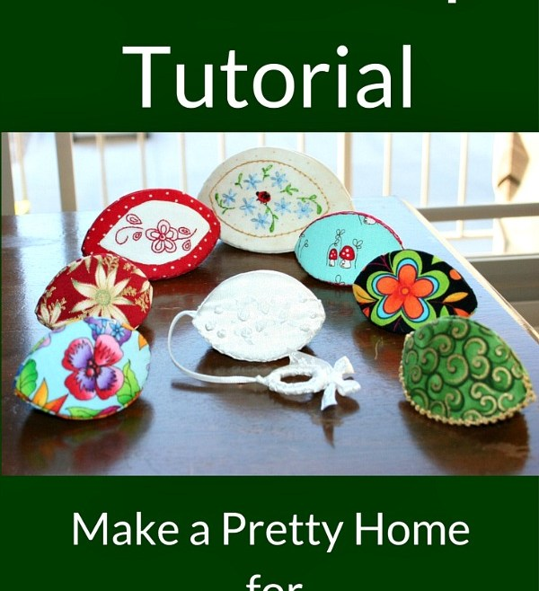 Thimble Pip Tutorial - Make a Pretty Home for Your Thimbles