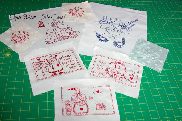 Several Small Embroideries