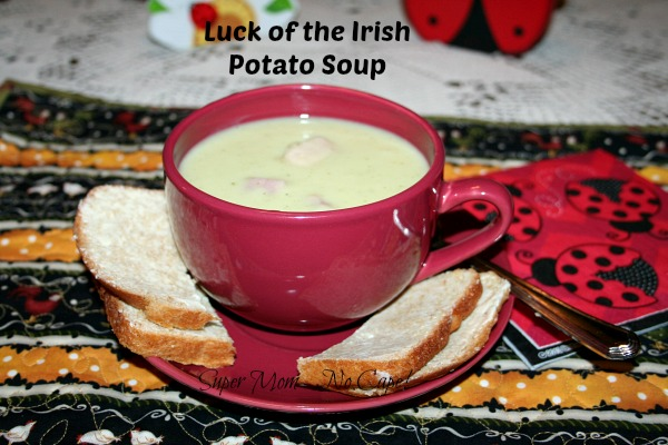 Luck of the Irish Potato Soup