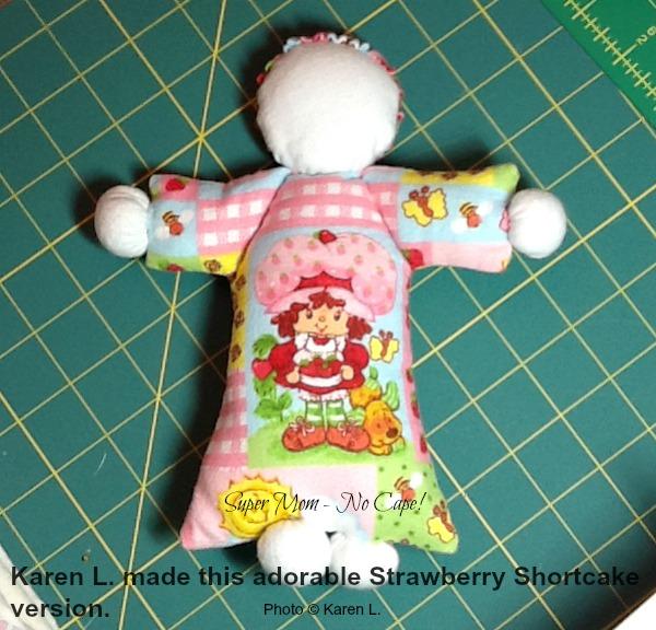 Abigail doll made by Karen L.