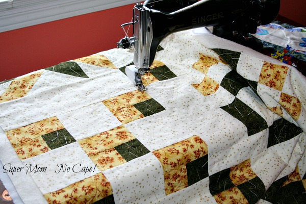 Quilting the Sampler Table Runner