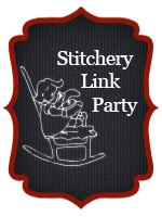 Stitchery Link Party Button