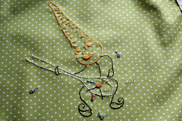 Vintage Embroidery Monday and Stitchery Link Party #18