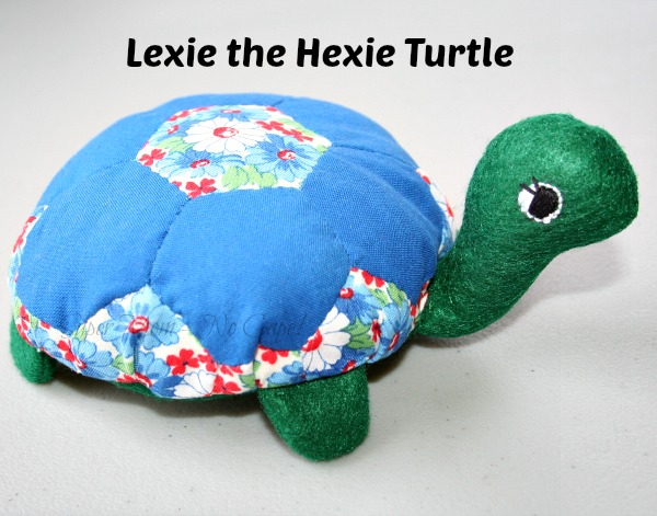 Lexie the Hexie Turtle