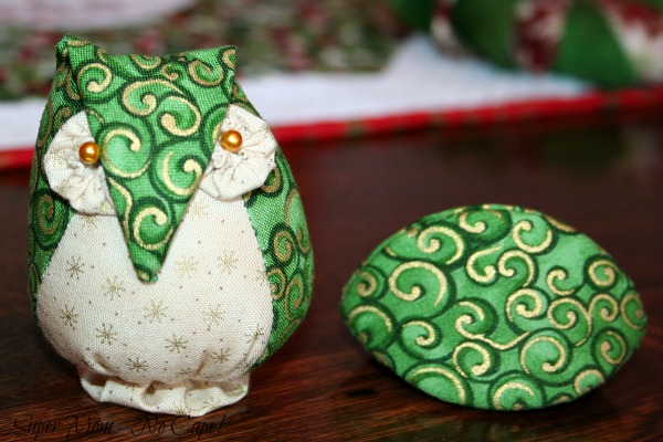 Owl Pincushion and thimble pip for Debbie