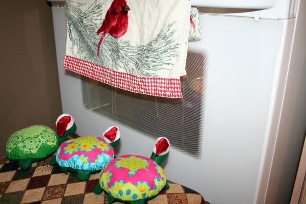 Turtles watching the cookies bake