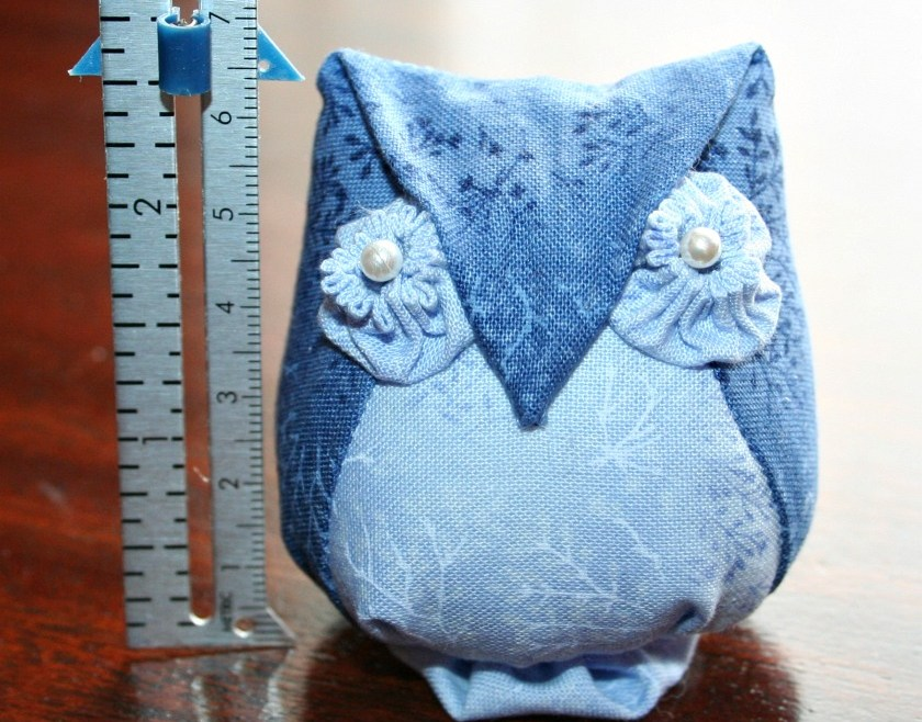Blue Version of Archimedes Pincushion
