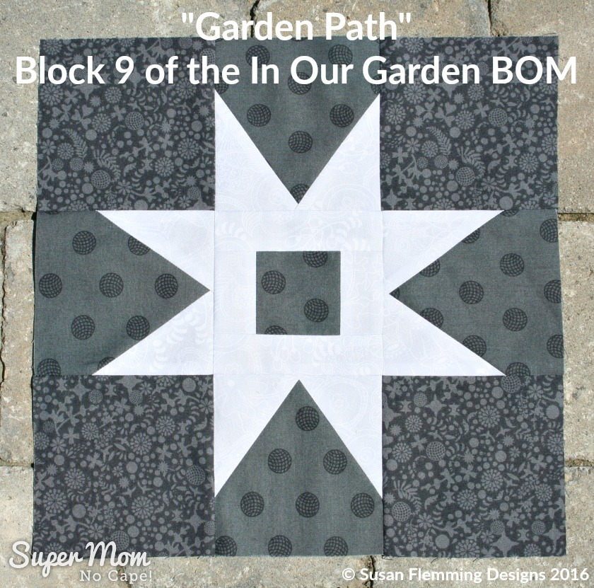 Garden Path - Block 9 of the In Our Garden BOM