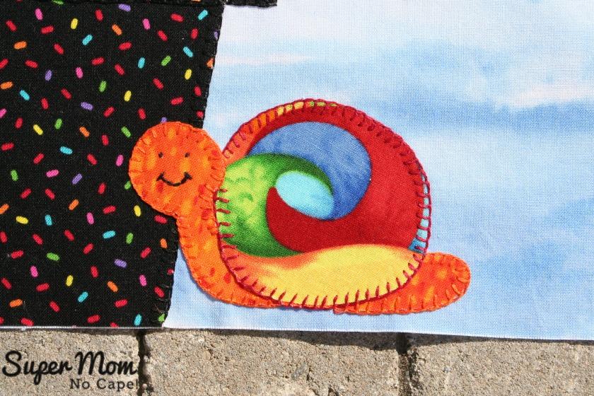 In Our Garden Block 12 -  Cute Snail