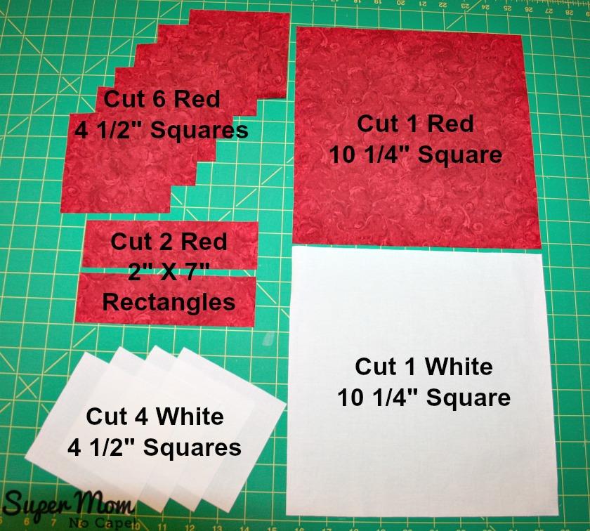 Maple Leaf Blocks - Step 1
