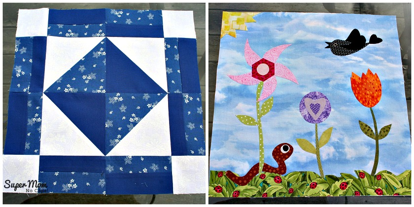 March - Blocks 3 & 4 for the In Our Garden BOM Blog Hop