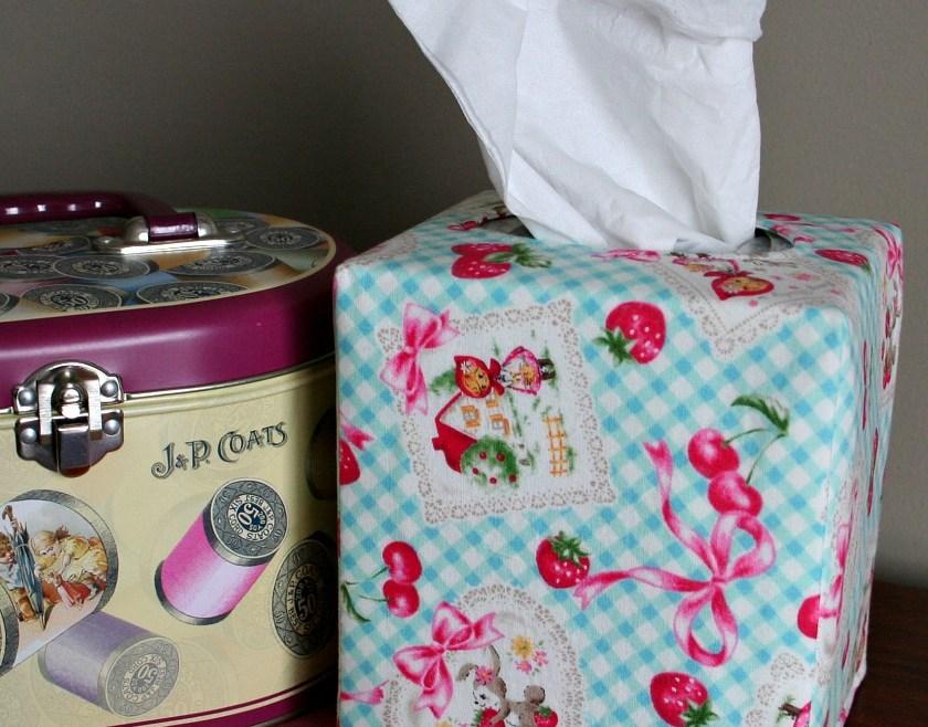 Spring Tissue Box Cover