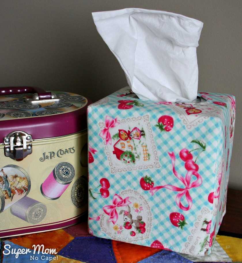 Spring Tissue Box Cover