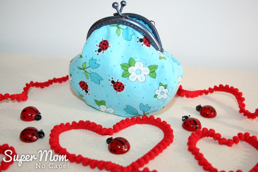 Last Minute Valentine's Gift Ideas - Blue Ladybug Coin Purse