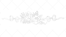 Vintage Embroidery Monday - Double Rose Banner - feature image