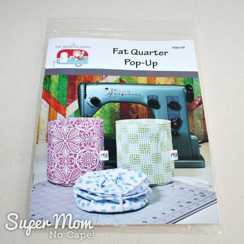 Fabric Scrap Storage - Fat Quarter Pop Up