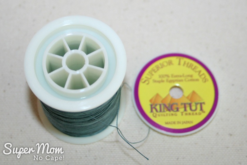 The Secret in Your Thread Spools - King Tut spool with the top removed