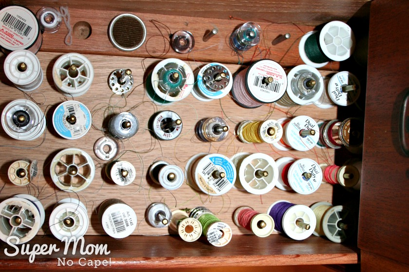 The Secret in Your Thread Spools - second drawer full of thread