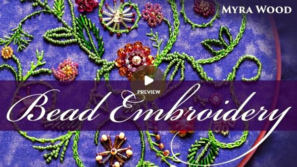 Bead Embroidery - Craftsy ad image