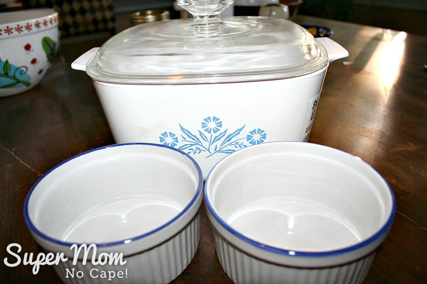 How to Set Up a Kitchen on the Cheap - casserole dish and 2 ramekins