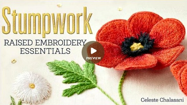 Stumpwork Raised Embroidery Essentials Craftsy ad image