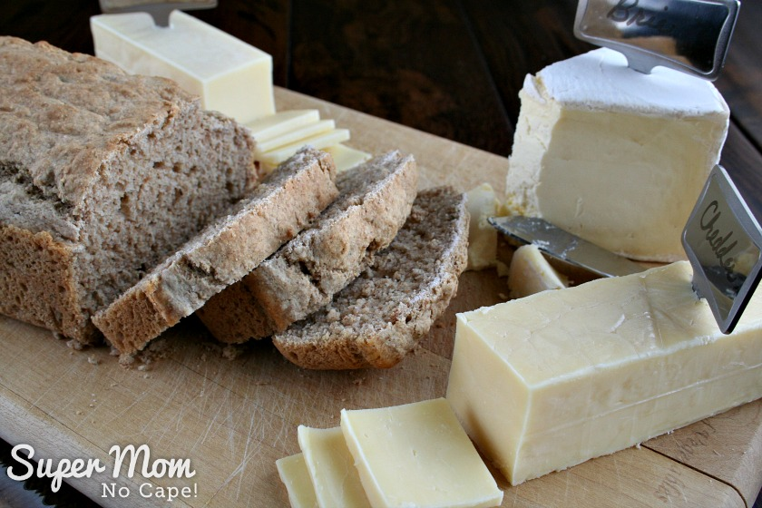 Herbed Beer Bread - Great served with a variety of cheeses