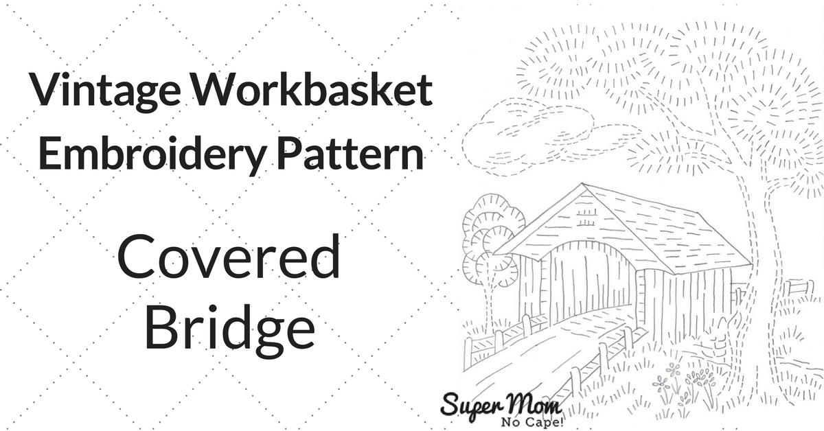 Vintage Embroidery Monday & Stitchery Link Party #126