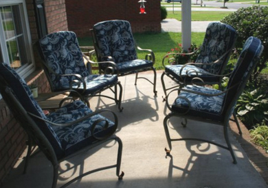Recovering Lawn Chair Cushions