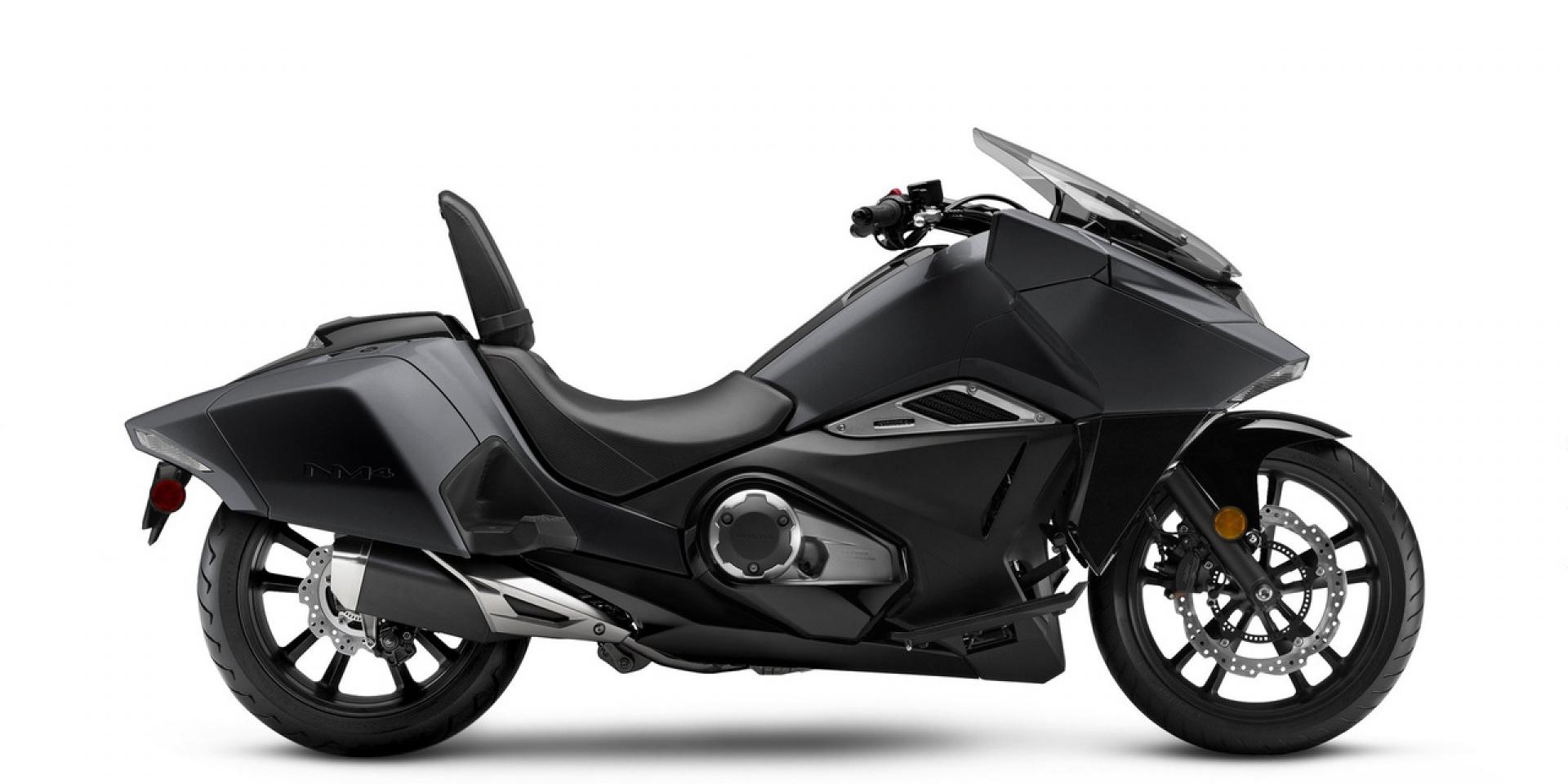 未來概念捲土重來。2018 Honda NM4   SUPERMOTO8
