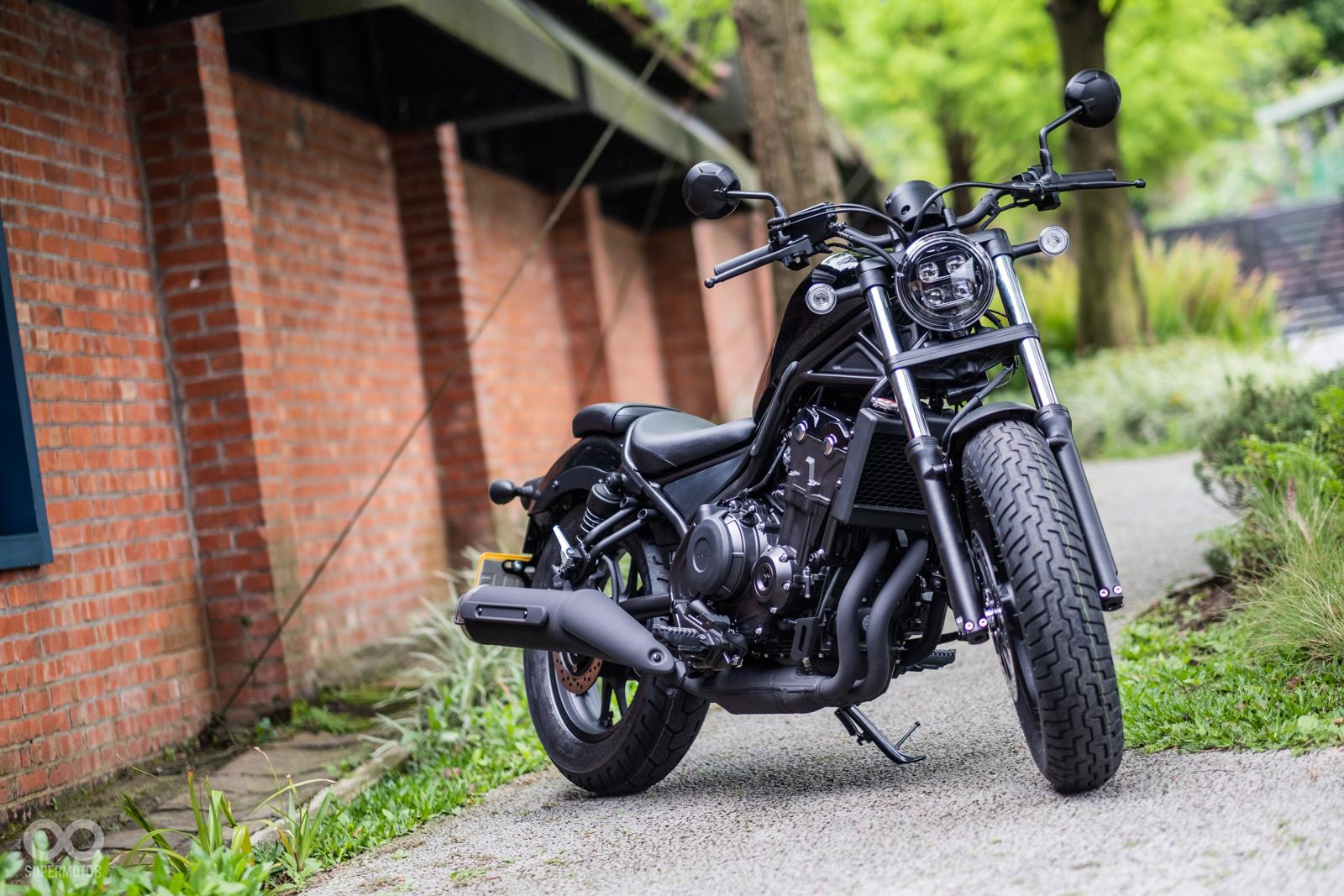 變身迷你哈雷。日本Kijima Customs推出Honda Rebel 500「巡航改裝套件」! | SUPERMOTO8