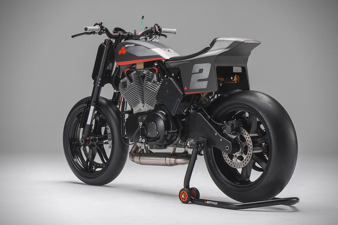 馬力重量比1:1 ! BOTTPOWER XR1R氣冷雙缸賽車   SUPERMOTO8