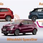 Al volante de urbanos compactos; Polo, SpaceStar y A1