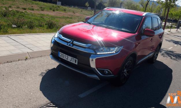 Al volante del Mitsubishi Outlander 4×2 2017