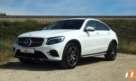 Al volante del Mercedes-Benz GLC Coupé 2017