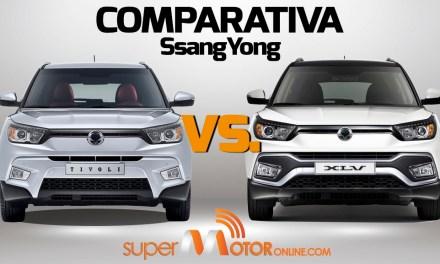 Comparativa SsangYong Tívoli vs. XLV 2017